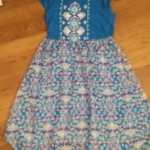 Colorful kids summer dress